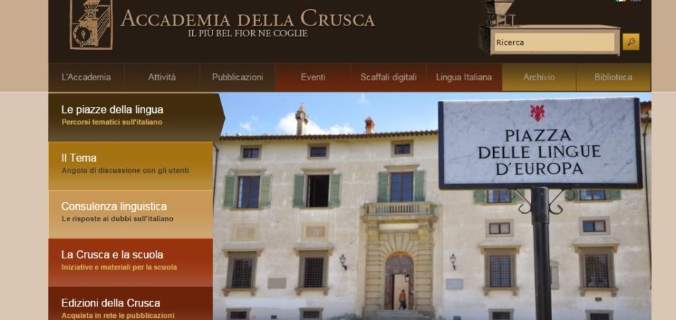 L'Accademia della Crusca resta senza soldi e taglia le borse di studio