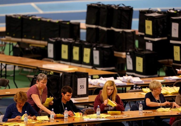 elezioni regno unito  2015 risultati spoglio sheffield
