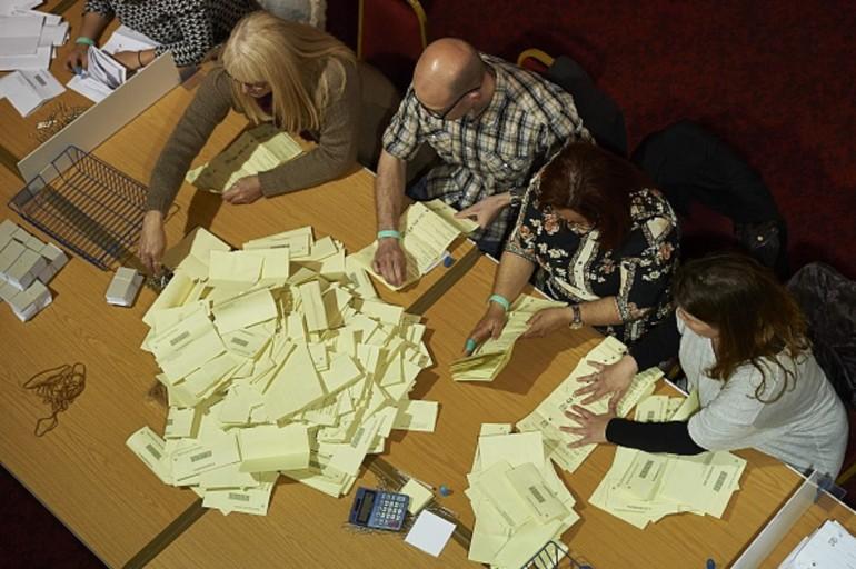 elezioni regno unito 205 risultati spoglio