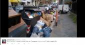 emergenza rifiuti roma portonaccio