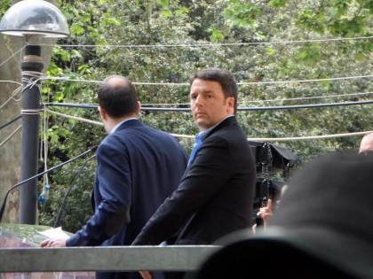 Matteo Renzi a la Festa dell'Unità