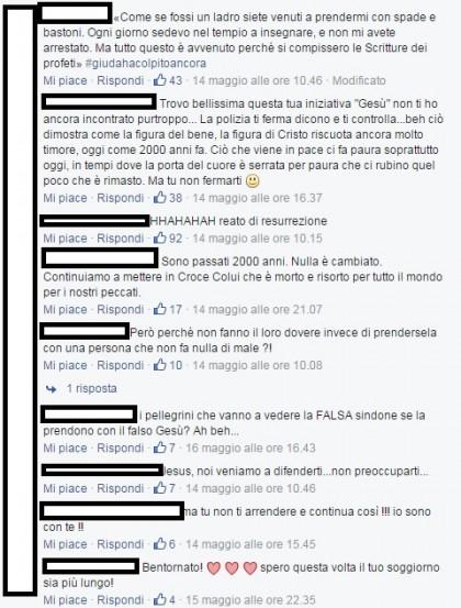 Facebook/Jesus in Turin
