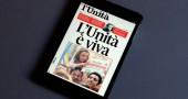 L'Unità: i giornalisti del gruppo Guido Veneziani Periodici in sciopero