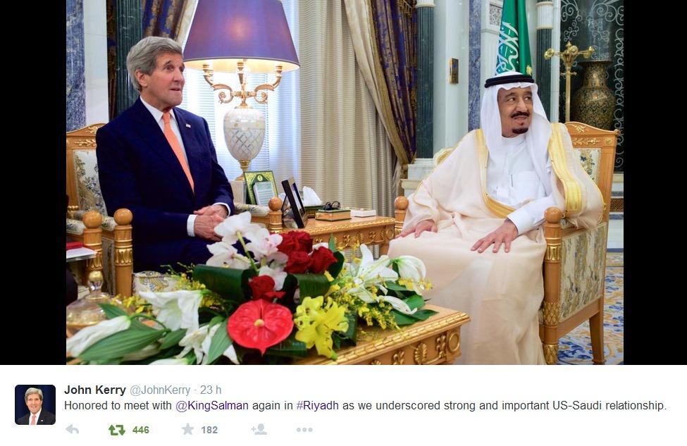John Kerry e re Salman