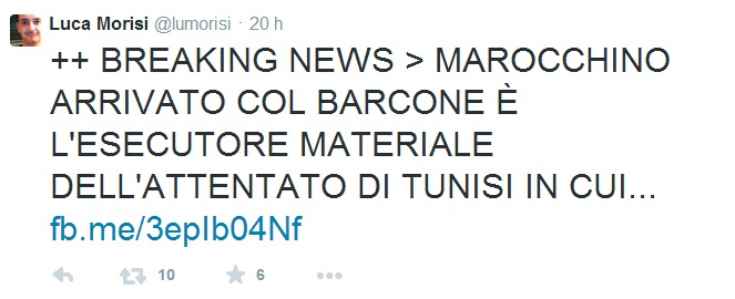 Il sobrio tweet del «comunicatore» della Lega Luca Morisi