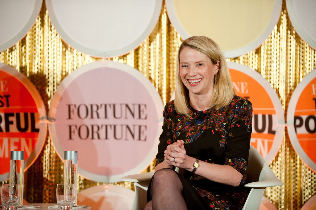 Marissa Mayer (Photo credit Don Feria/Getty Images for Fortune)