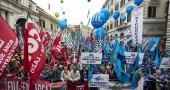 sciopero sindacati marino sel