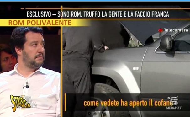 """Striscia la notizia scova il """"finto rom"""" della trasmissione Quinta Colonna. Licenziato Fulvio Benelli"""
