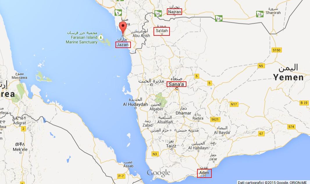 yemen mapp