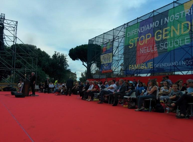family day roma palco