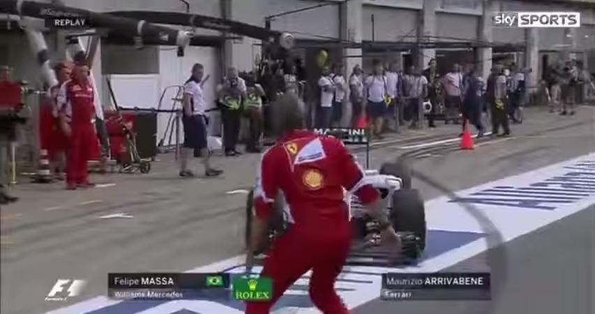 Formula 1 Maurizio Arrivabene Felipe Massa
