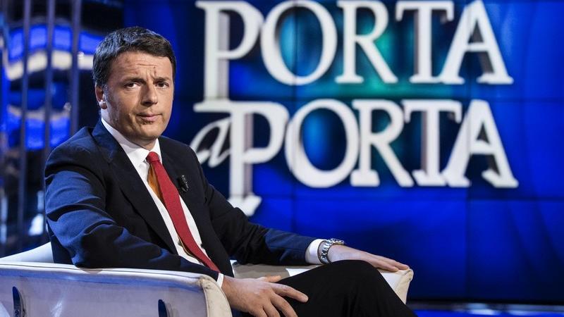 Matteo Renzi porta port