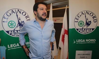 Matteo Salvini a Pontida