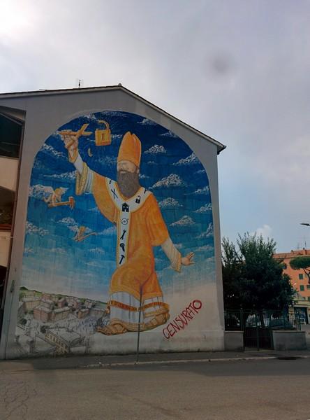 Il murales di Blu, censurato