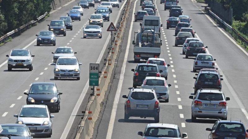 Traffico autostrada orte attigliano orvieto