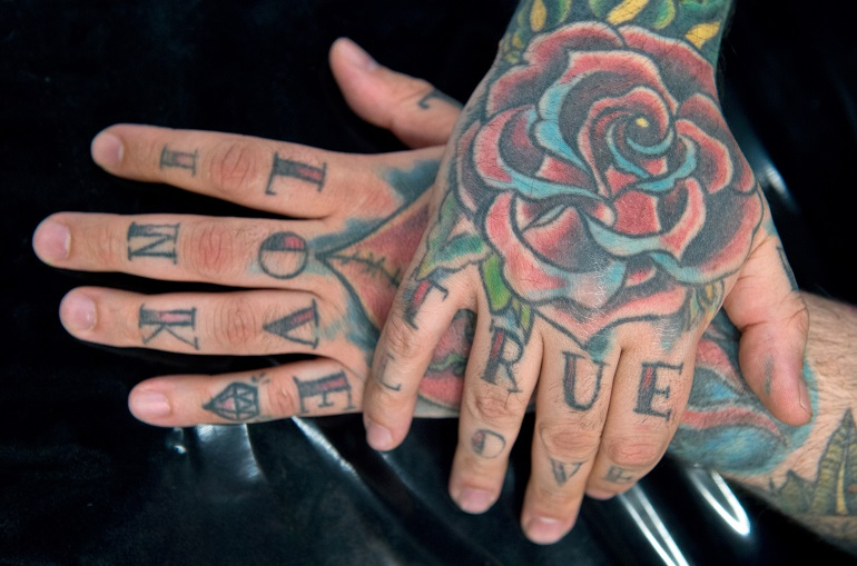 Top I 10 punti dove fa più male farsi un tatuaggio | Giornalettismo GE05