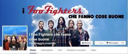 foo fighters fanno cose buone facebook