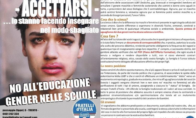 Gender Fratelli d'Italia
