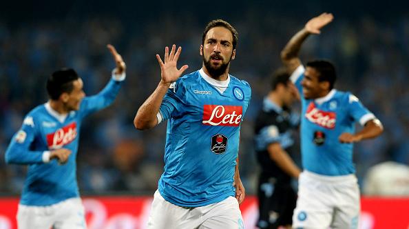 Goleada del Nápoles a la Lazio, Inter sigue líder