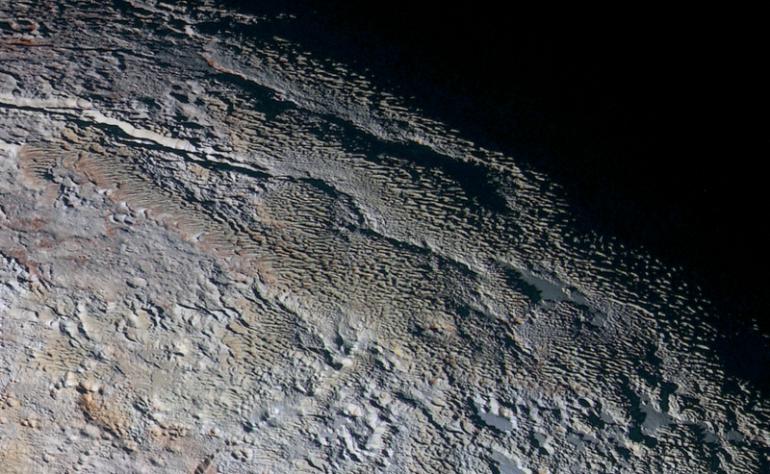 Plutone monti del tartaro