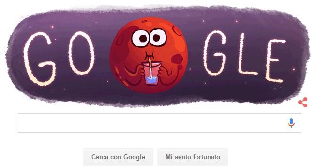 marte doodle google