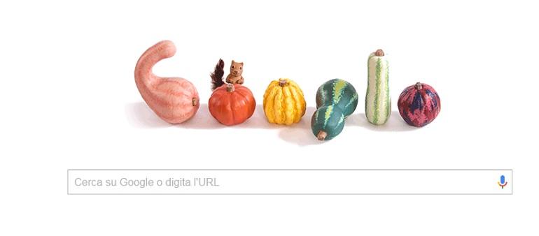 primo giorno autunno doodle