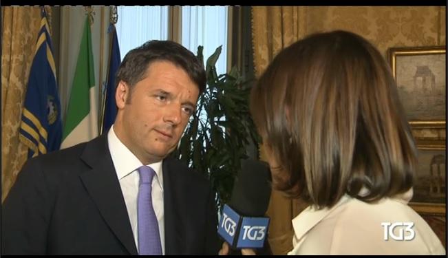 Bianca Berlinguer intervista Matteo Renzi