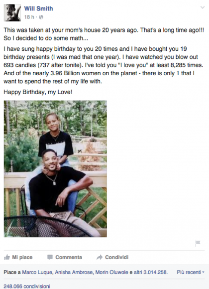 will smith compleanno jada pinkett smith
