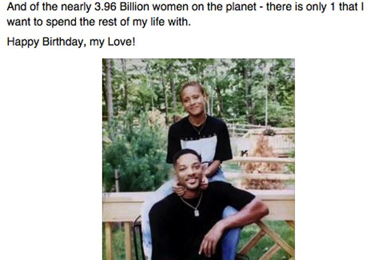 Will Smith Facebook Po... Will Smith On Facebook