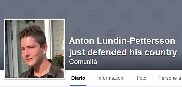 Sui social network non manca chi approva l'azione di Petterson