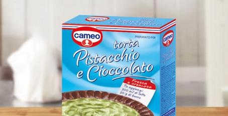 CAMEO RITIRA PREPARATO TORTA PISTACCHIO E CIOCCOLATO