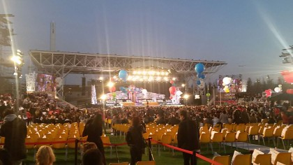 Expo pre cerimonia