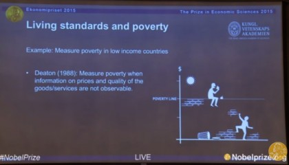 Premio Nobel Economia 2015 Angus Deaton