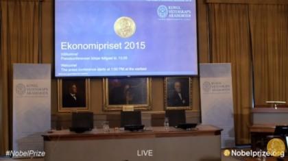 Premio Nobel Economia 2015 diretta