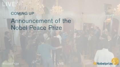 Premio Nobel Pace 2015 premiazione