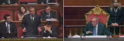 Riforme Senato Calderoli Grasso