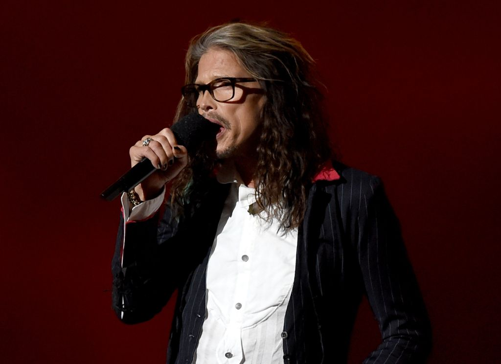 Il cantante degli Aerosmith   Steven Tyler all'Academy of Country Music Awards  nell'aprile scorso (Photo by Ethan Miller/Getty Images for dcp)