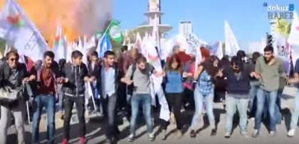 Turchia attentato ankara esplosione corteo pace