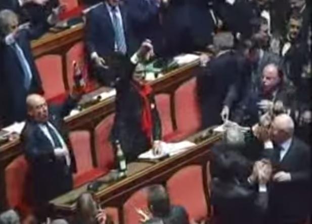 insulti Senato