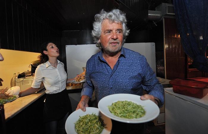 Beppe Grillo comunarie m5s Roma
