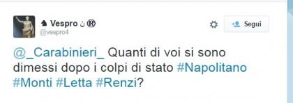 carabinieri twitter
