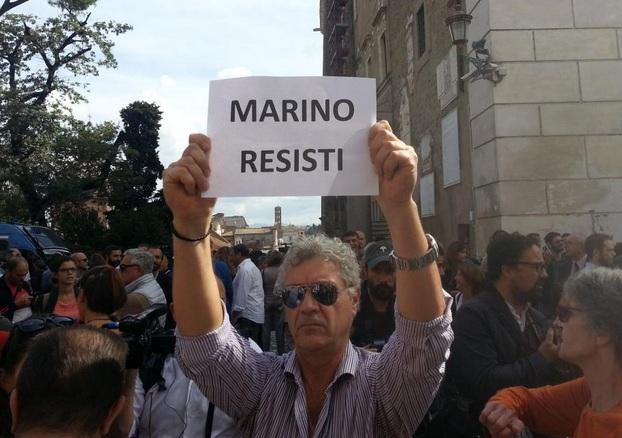 dimissioni ignazio marino
