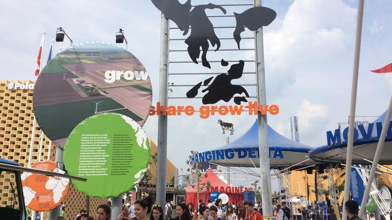 Expo, nel padiglione Olanda carne andata a male e pane nei sacchi neri