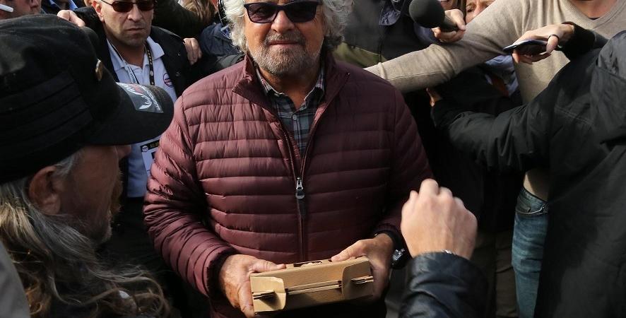 Beppe Grillo Roma
