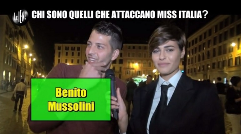 miss italia iene video