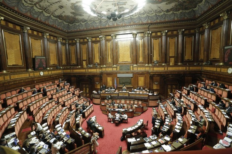 Il nuovo senato le simulazioni oggi sarebbe un for Composizione senato