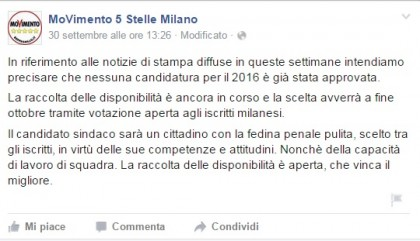 roma elezioni sindaco m5s