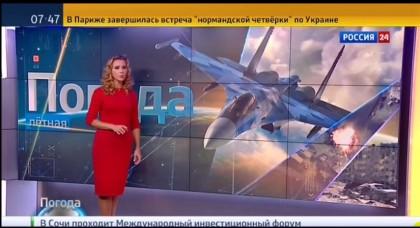 """La """"meteorina"""" in Russia: «Ottobre, un mese ideale per bombardare la Siria»"""