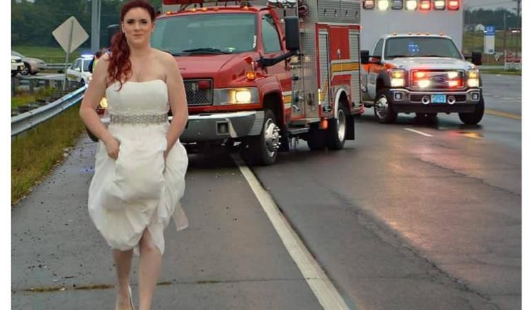 sarah ray sposa incidente