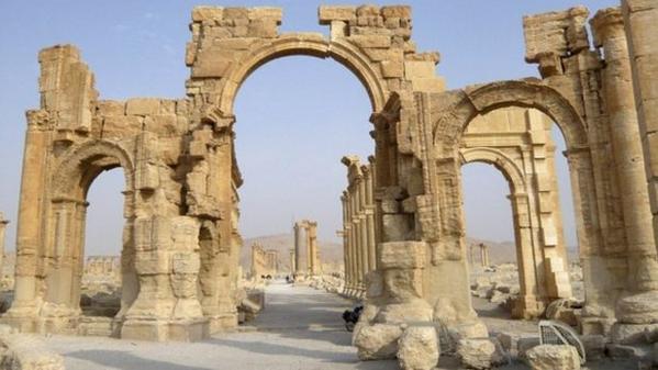 siria isis arco palmyra